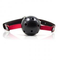Knebel-Breathable Ball Gag Stretch (nero)
