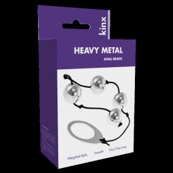 Kulki-Heavy Metal Anal Beads Kinx