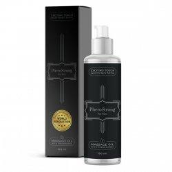 Olejek do masażu erotycznego o zapachu PHEROSTRONG 50 dla mezczyzn 100ml