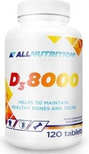 Allnutrition Witamina D3 8000 120 tab odporność