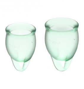 Feel Confident Menstrual Cup Set Light Green