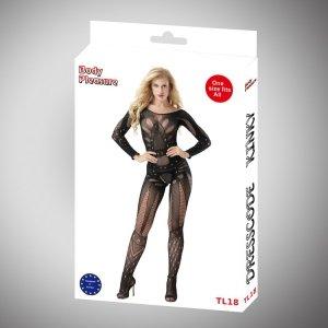 Body Pleasure - Sexy Lingerie Set - one size - black TL18