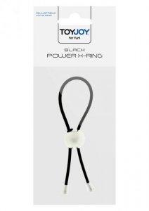 Pierścień-POWER X RING BLACK