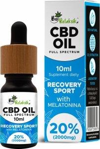 Olej konopny 20% Recovery Sport- 10ml – z melatoniną