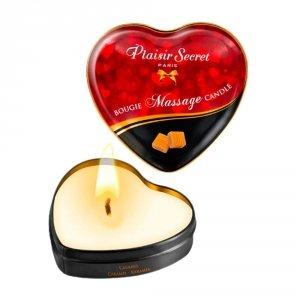 Naturalna świeca do erotycznego masażu karmel