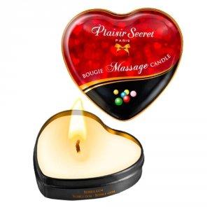 Naturalna świeca do erotycznego masażu guma balonowa
