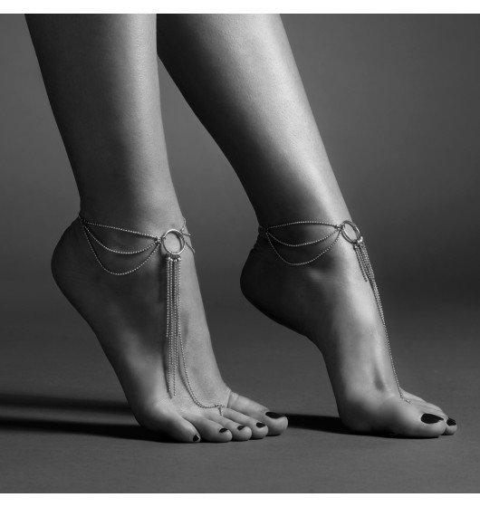 Bijoux Indiscrets - Magnifique Feet Chain (srebrny)