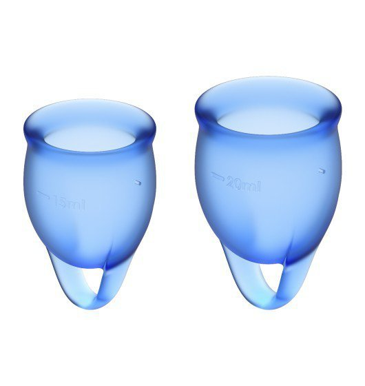Feel Confident Menstrual Cup Set Dark Blue