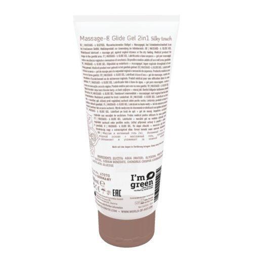 Żel/sprej-Shiatsu 2in1 Massage-Glide Gel Silky Touch 200ml.