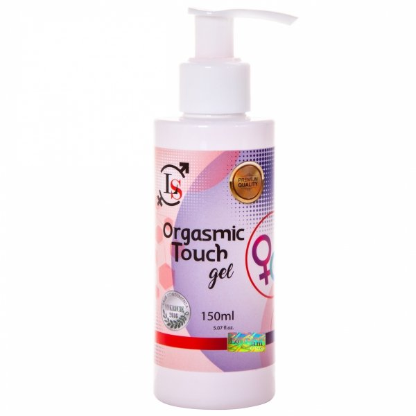 ORGASMIC TOUCH 150ml TO ŻEL 3W1 O IDEALNYM ZAPACHU MALINY