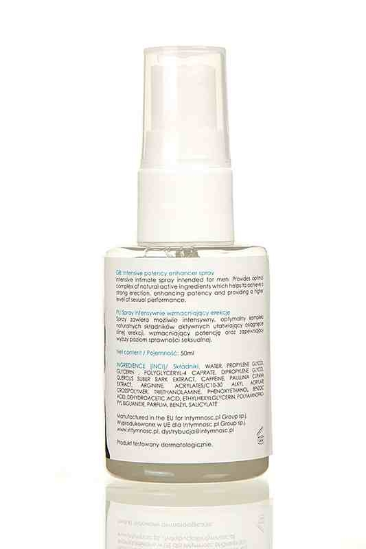 Potency Spray Intensive 50 ml - szybka erekcja