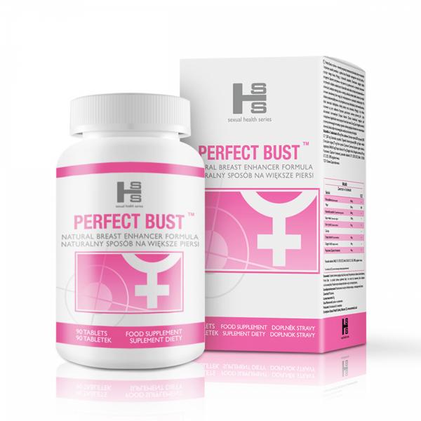Perfect Bust ZESTAW tabletki 90szt + Gel 150ml