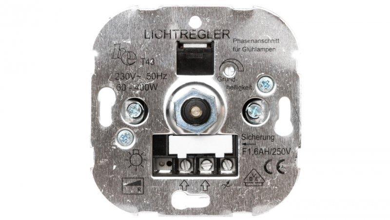 polo.Fiorena Ściemniacz obrotowy 230V 60-400W do lamp żarowych i halogenowych 11006801