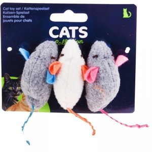 Zabawka dla kota zestaw myszek 3 szt