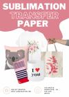 Papier transferowy sublimacyjny PAP-A4-STP100 *100