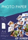 Papier Fotograficzny Błyszczący A4 200g 50 szt PAP-A4-FOTO200