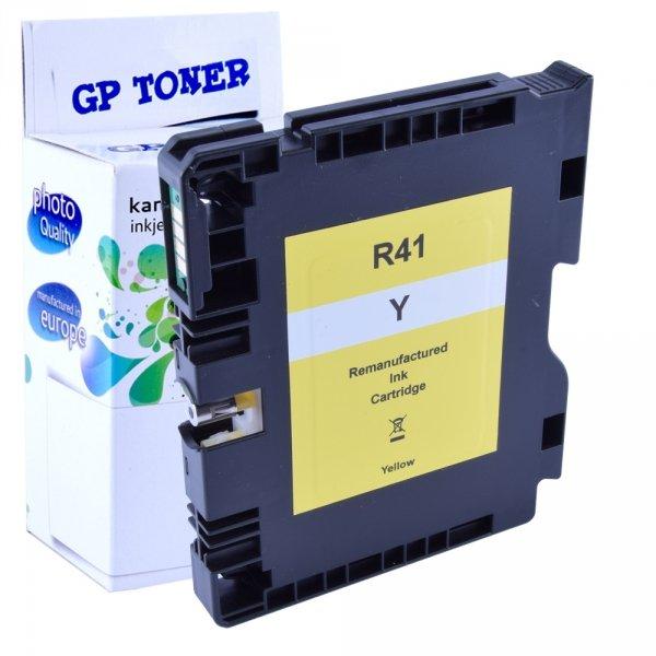 Tusz żelowy do Ricoh SG 2100N 3100SNw 3110DN Yellow - GP-R41XL Y - Żółty