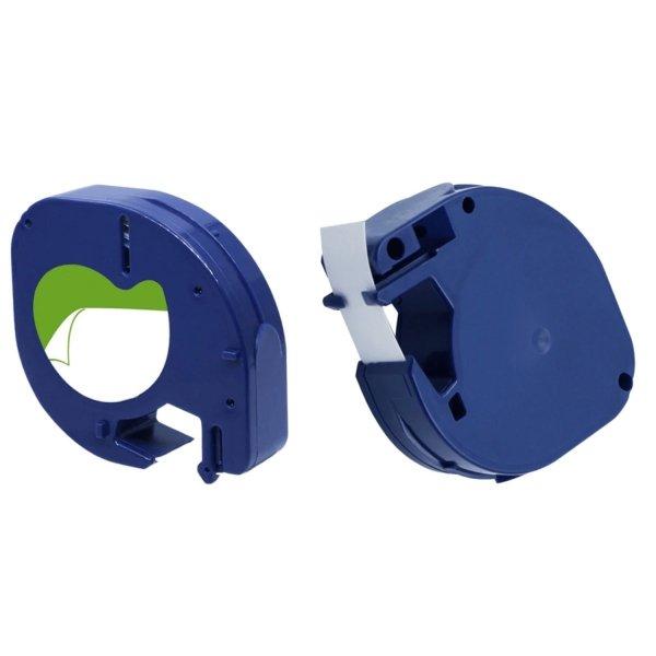 3x Taśma do Dymo LetraTag 59426 12mm x 4m Niebieska Plastik - zamiennik GP-DY59426 x3