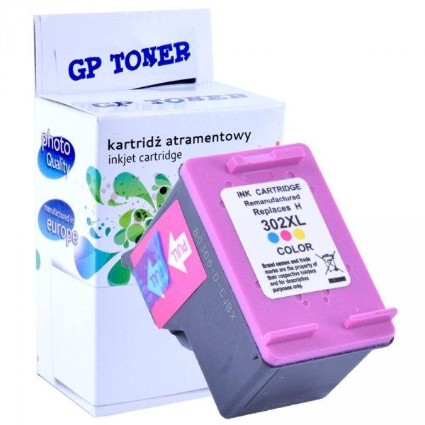 Zamiennik Tusz do HP 302XL DeskJet 1110 2130 3630 4520 3830 - GP-H302XLC Kolor