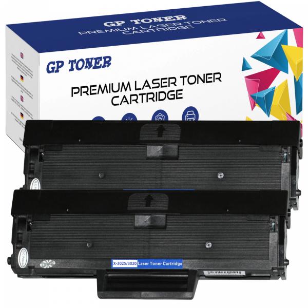 2x Toner Zamiennik do Xerox 3020 Phaser 3020 XL WorkCentre 3025 XL 106R02773 - GP-X3020 x2