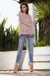 Ażurowy sweterek LS202