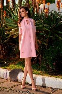 Sukienka z odkrytymi ramionami  L245