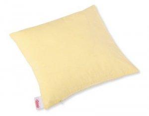 Poszewka na poduszkę - paseczki żółte