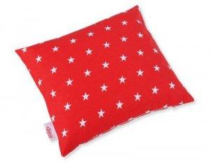 Poszewka na poduszkę - gwiazdki czerwone