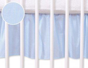 Falbanka maskująca 120x60cm- Osiołek Lucek niebieski