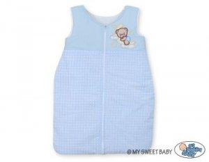 Śpiworek niemowlęcy- Dobranoc niebieskie