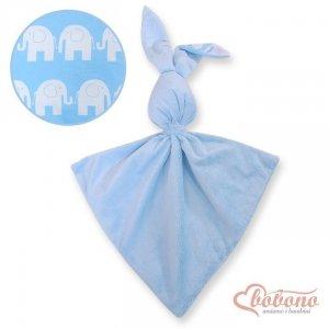 Zając przytulanka dwustronna - Simple słonie niebieskie