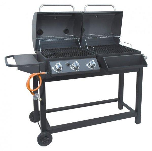 Grill DUET - gaz / węgiel 2w1