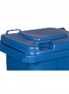 Pojemnik na odpady 120L niebieski