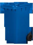 Pojemnik na odpady 240L niebieski