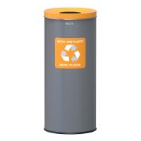 Kosz do segregacji odpadów EKO 45L plastik i metal