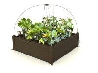 Warzywnik skrzynia Raised Garden Bed brązowa