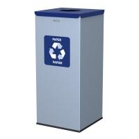 Kosz do segregacji odpadów EKO SQUARE 60L papier