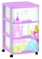Regał z szufladami 3 x 20L Disney Princess