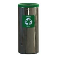 Kosz do segregacji odpadów EKO PRESTIGE 45L szkło