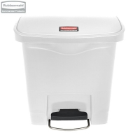 Kosz Slim Jim® Step-On 15L Resin Containers white