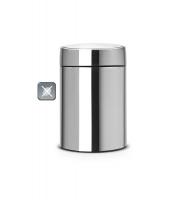 Kosz SLIDE BIN De Lux 5L Matt Steel FPP