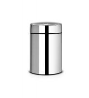 Kosz SLIDE BIN De Lux 5L Brilliant Steel