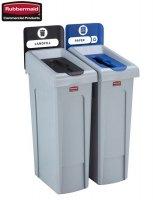Stacja do Recyklingu Slim Jim® 2 stumienie