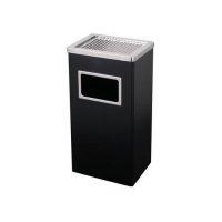 Koszopopielnica prostokątna czarna MX-2075BL