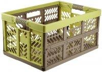 Kosz składany Profi-Klappbox 45L zielony/szarobrązowy