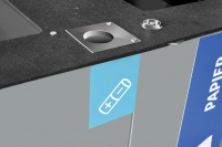 MODULAR pojemnik na zużyte baterie