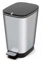 Kosz na śmieci CHIC-BIN 30L srebrny