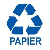 Etykieta do segregacji PAPIER
