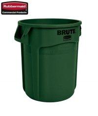 Kontener okrągły z kanałami BRUTE® 75,7L Green