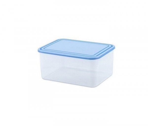 Pojemnik do przechowywania żywności prostokątny 0,4L niebieski